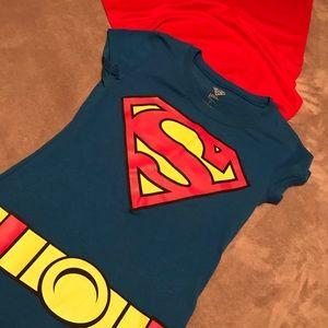 Tops - Halloween super woman t shirt! worn once